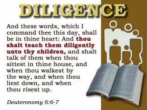 Deut 6:6