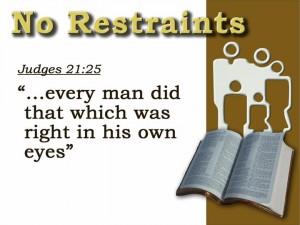 Judges 21:25