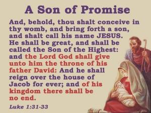 Luke 1:31-33