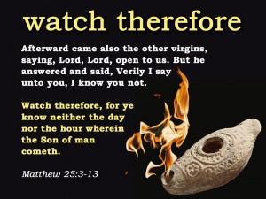 Matthew 25:3-13