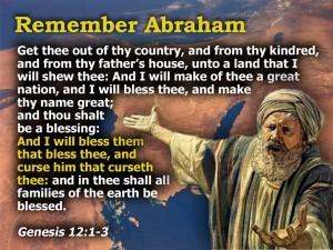 GENESIS12:1-3