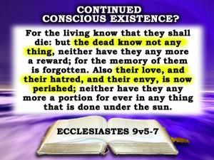 Eccl 9:5-7