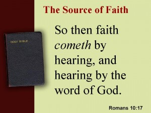 source of faith